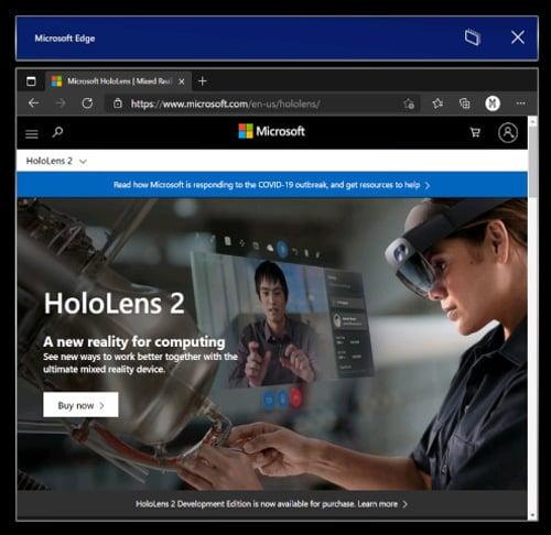 Windows Holographic 21H1 já está disponível para o HoloLens 2