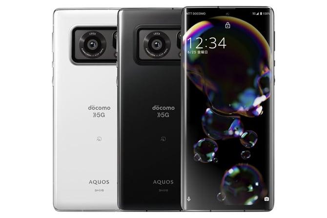 Smartphone Sharp Aquos R6 tem tela de 240Hz e câmera com sensor de 1 polegada