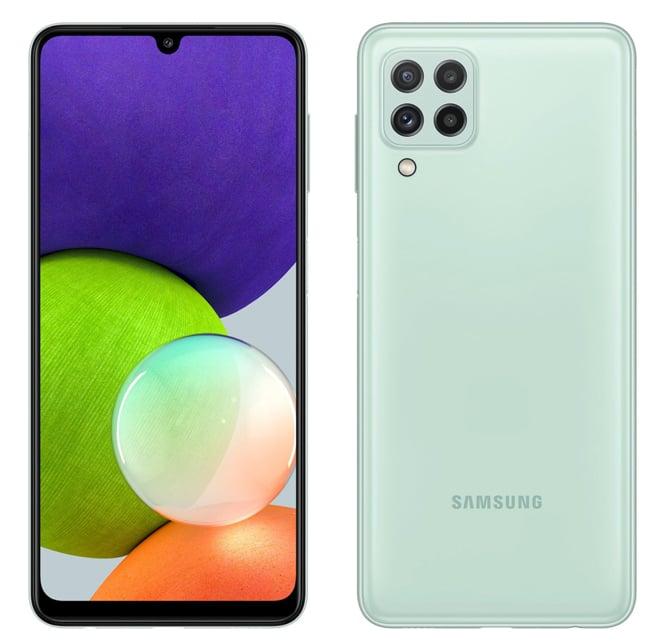 Samsung anuncia os smartphones Galaxy A22 5G e Galaxy A22