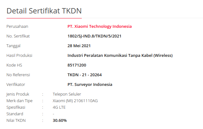POCO X3 GT é confirmado em certificação na Indonésia