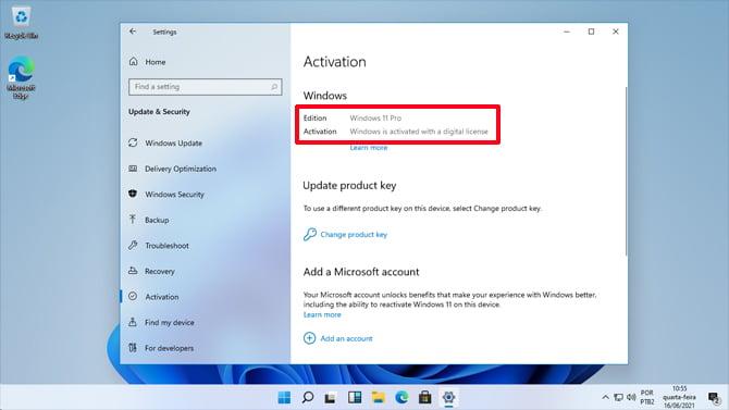 Windows 11 deve suportar o upgrade gratuito a partir do Windows 10, 8.1 e 7
