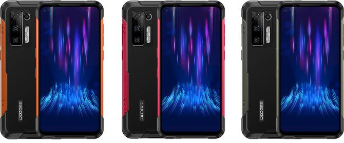 Doogee S97 Pro é um smartphone com corpo reforçado e bateria de 8.500mAh