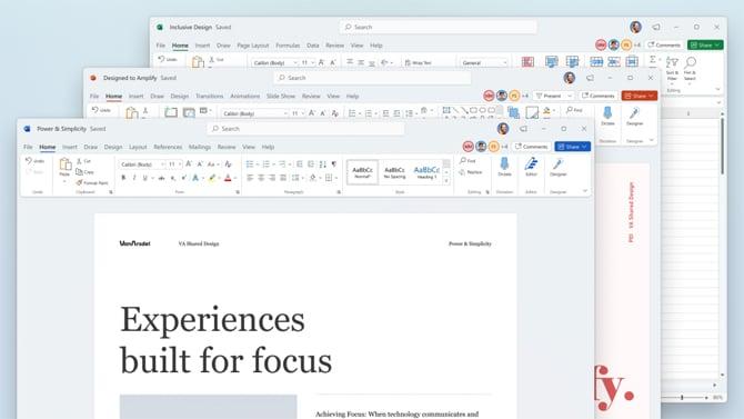 Microsoft Office ganha novo design e suporte nativo para arquitetura ARM64