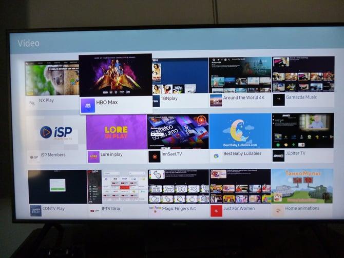Smart TVs da Samsung já oferecem o aplicativo do HBO Max no Brasil