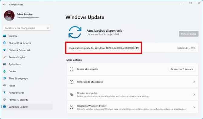 Windows 11 build 22000.65 introduz uma caixa de pesquisa no Menu Iniciar