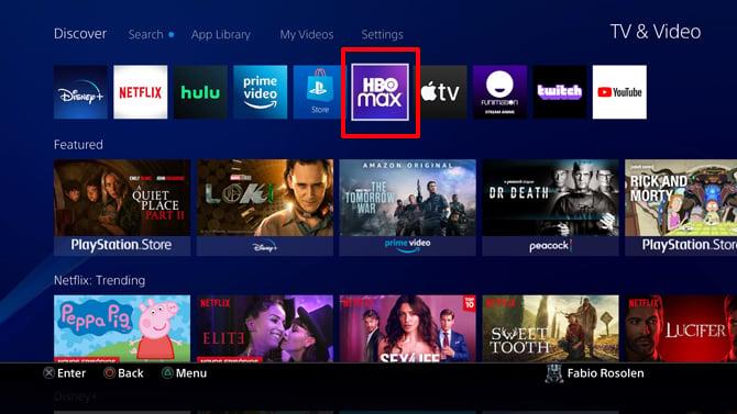 App do HBO Max já está disponível no PlayStation 4 e PlayStation 5