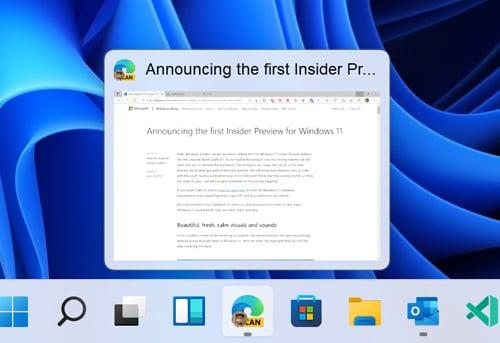 Windows 11 build 22000.71 traz um novo widget e menus de contexto atualizados