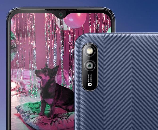 Smartphone Lava Z2s é lançado com Android 11 Go e bateria de 5.000mAh