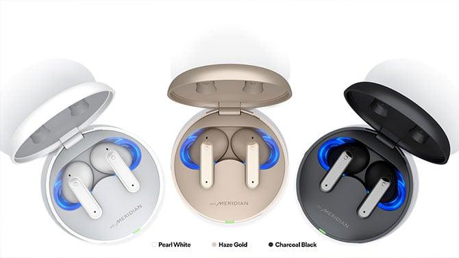 Linha completa de fones LG Tone Free FP5, FP8 e FP9