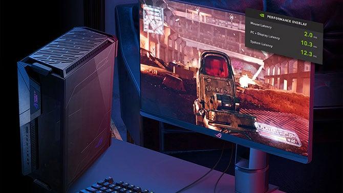 Monitor ASUS ROG Swift PG259QN com taxa de atualização de 360 Hz
