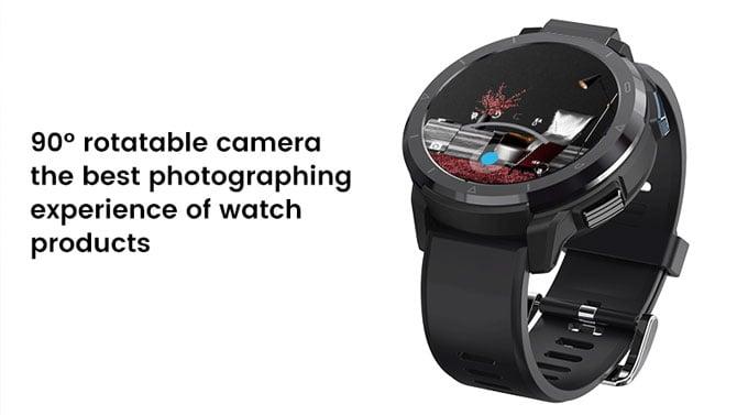 Destaque para a câmera rotacionável do Kospet Optimus 2