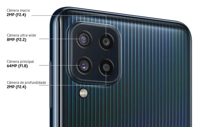 Samsung Galaxy M62 e Galaxy M32 trazem baterias grandes e câmera de 64MP
