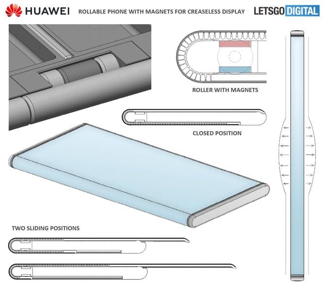 Nova patente revela mecanismo rollable