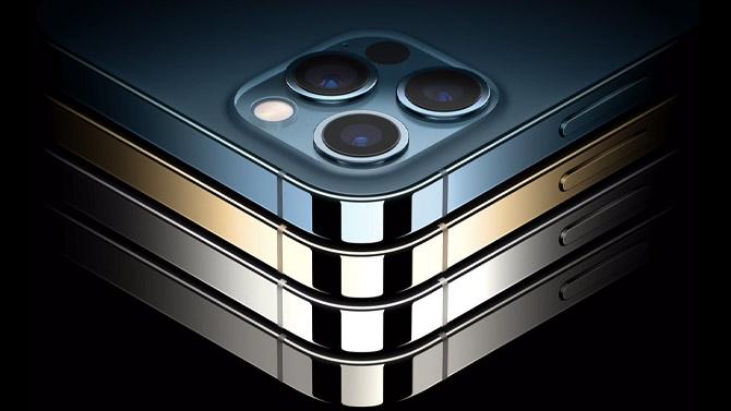 iPhones 12 em diversas cores