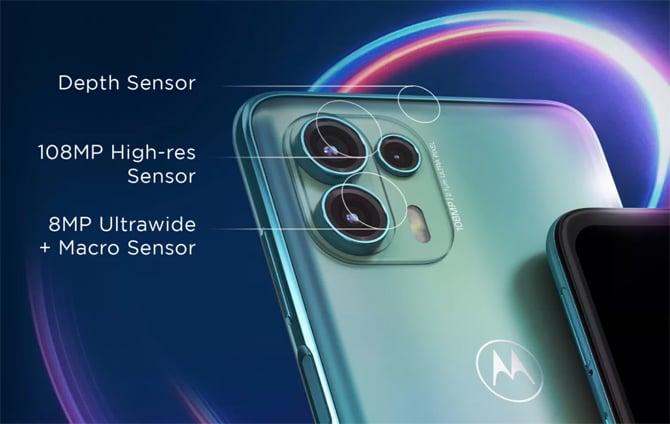 Motorola Edge 20 Fusion virá com 3 câmeras traseiras e tela AMOLED de 90Hz