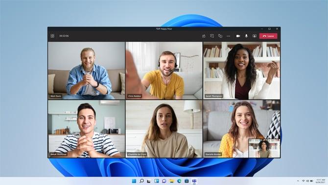 Windows 11 build 22000.132 traz integração com Chat do Microsoft Teams na versão Beta