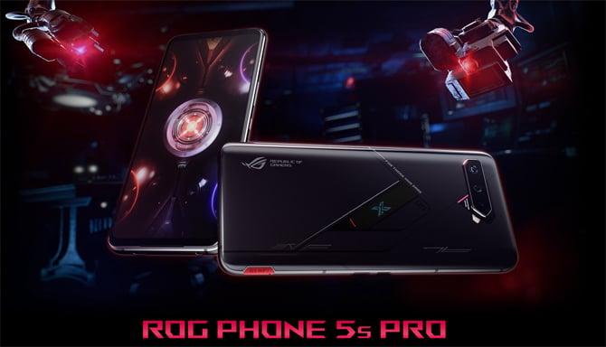 ASUS ROG Phone 5s e ROG Phone 5s Pro chegam com Snapdragon 888+ e tela de 144Hz