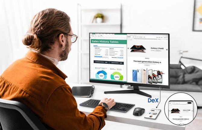 Samsung Smart Monitor M5 | Imagem: Samsung/Divulgação