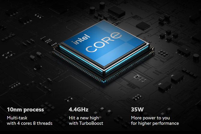 Processadores Intel Core I5 e I7 Tiger Lake