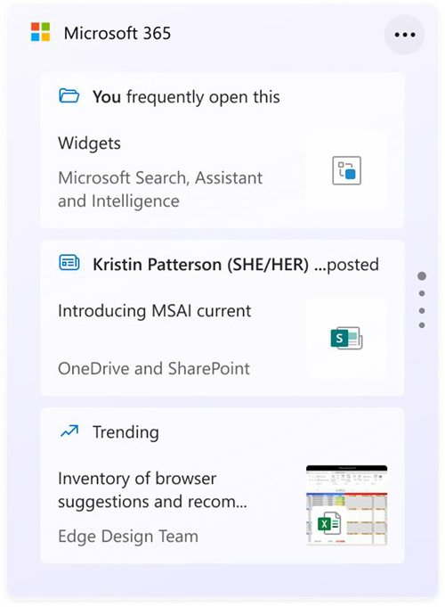 Windows 11 build 22000.168 traz novo widget do Microsoft 365