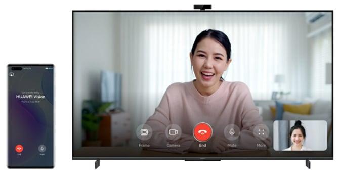 Videochamadas de qualquer dispositivo Huawei