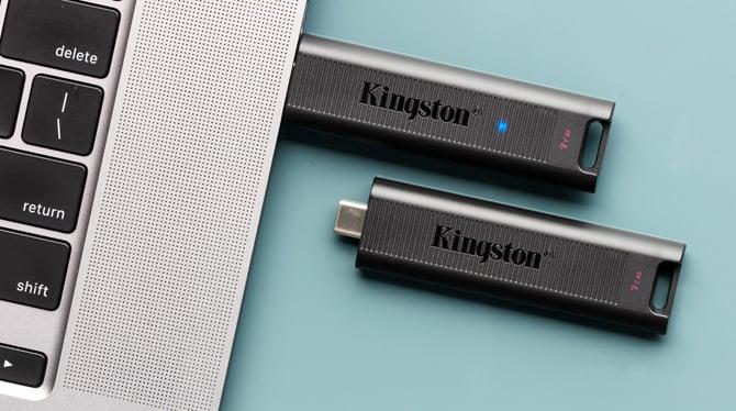 Kingston lança pendrive DataTraveler Max, mais rápido do que muitos SSDs