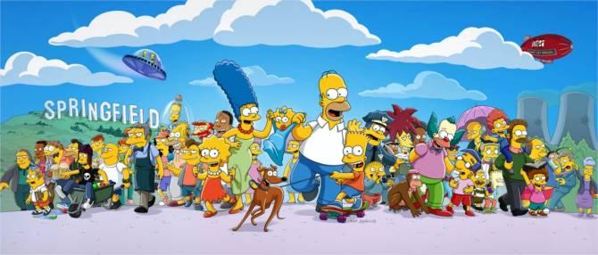 Todas as 32 temporadas de Os Simpsons estão disponíveis.