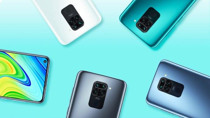 Atuais aparelhos da linha Redmi Note 9