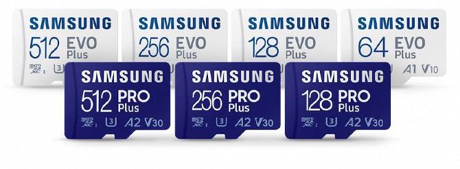 Novos MicroSD Samsung