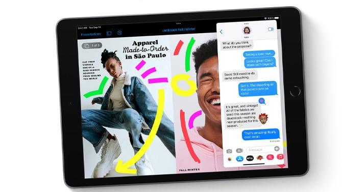Novas opções e preços do iPad