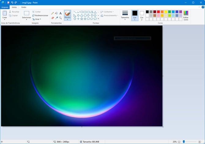 Paint do Windows 11 é atualizado e ganha nova interface