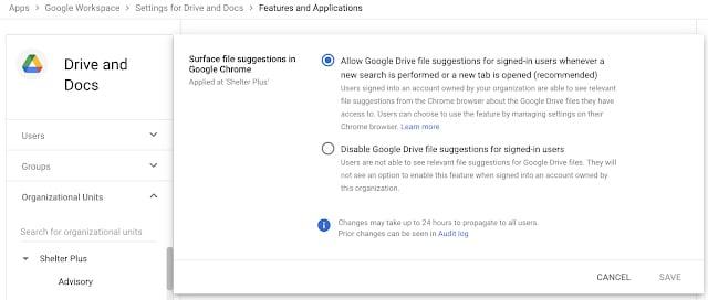 Google Chrome passará a oferecer acesso rápido a arquivos no Google Drive