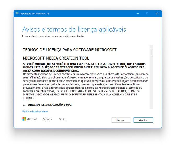 Como baixar a versão final do Windows 11