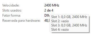 Windows 11: como checar detalhes da memória RAM
