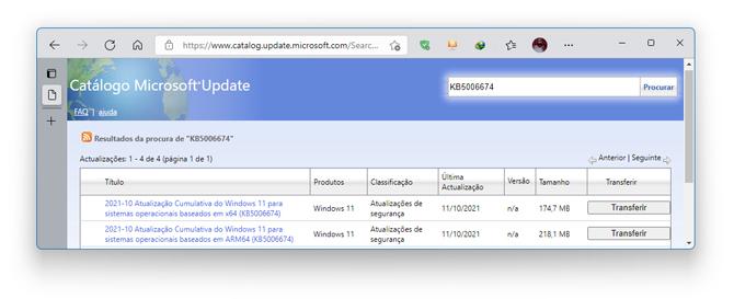 Microsoft disponibiliza primeiro update para o Windows 11
