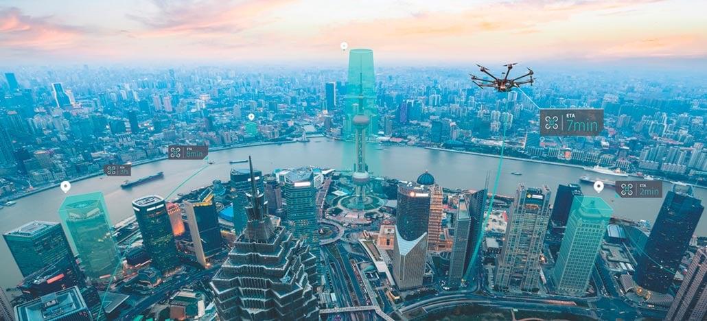 Here Technologies e Unifly se juntam para mapear espaço aéreo para drones do futuro