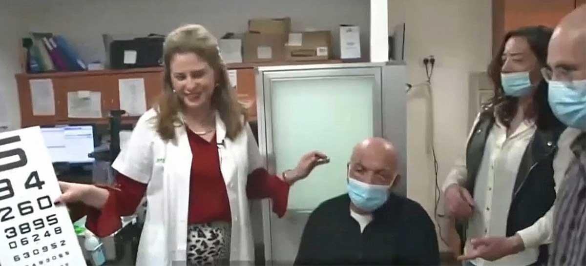 Homem cego volta a enxergar após implante de córnea sintética - veja o vídeo explicando o procedimento