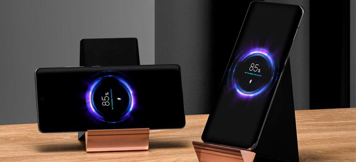 Xiaomi revela carregador sem fio de 100W, mas nenhum smartphone poderá utilizá-lo no máximo