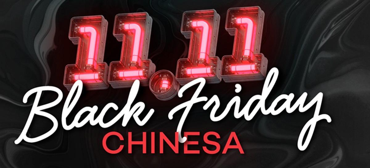 """Black Friday Chinesa! celulares, drones, smartwatches e fones com """"baita descontos""""!"""