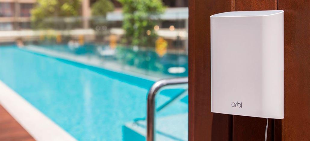 Netgear anuncia o Orbi Outdoor Satellite, um extensor de sinal Wi-Fi resistente contra água