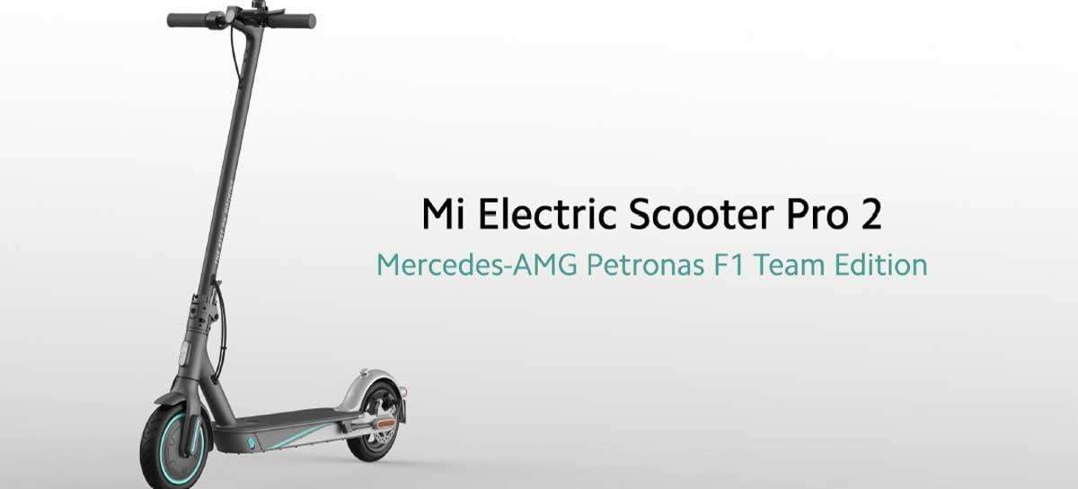 Xiaomi lança patinete elétrica em parceria com Mercedes