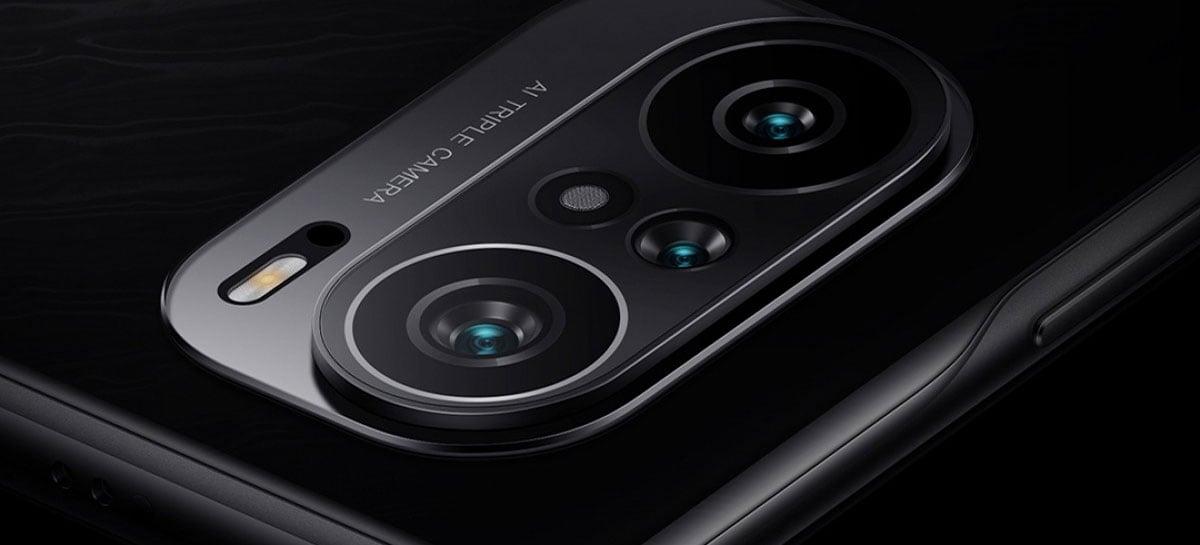 Nova imagem promocional do Redmi K40 indica sistema com três câmeras