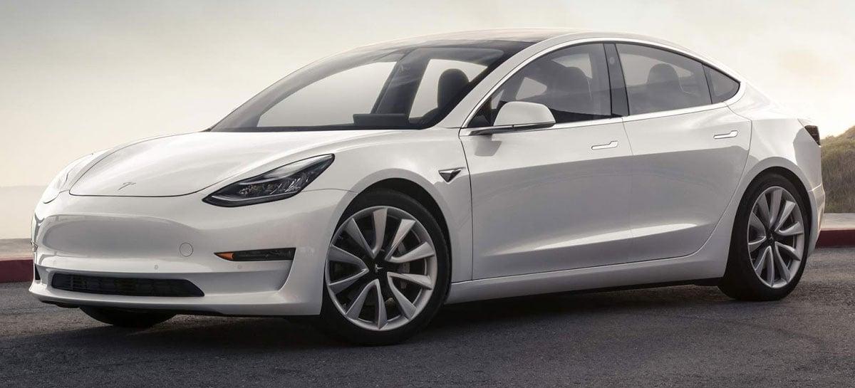 Tesla anuncia corte de preço de seus modelos mais de entrada