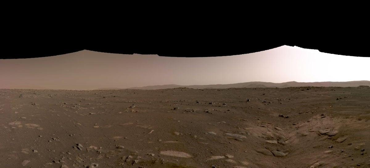 Rover da NASA faz gravação em 360 graus de Marte - veja o vídeo