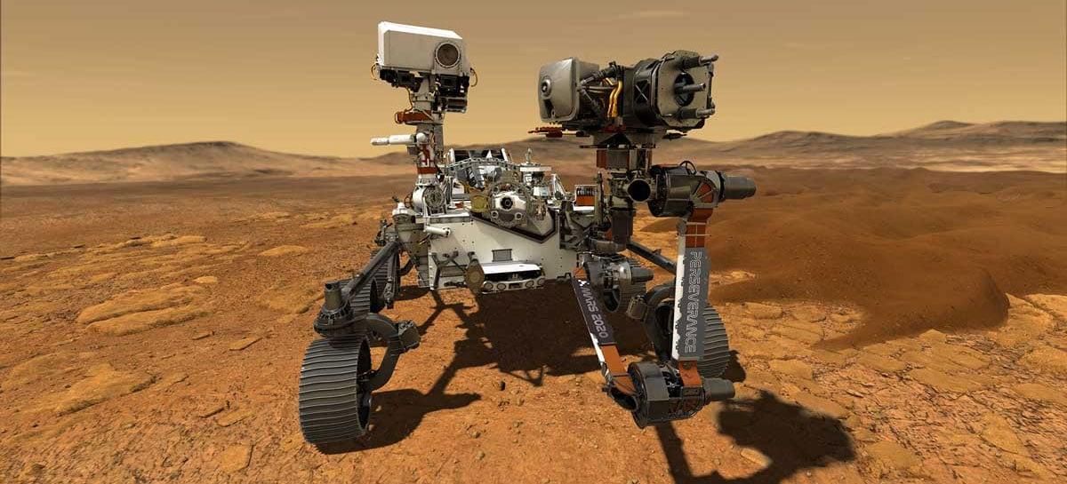 Rover Perseverance da NASA que foi para Marte usa chip Apple de 1998