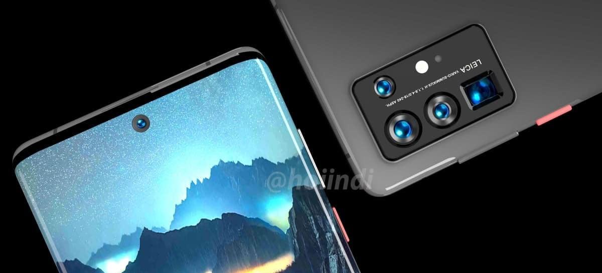 Série Huawei P50 será a primeira com sistema operacional HarmonyOS pré-instalado
