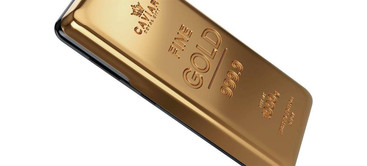 Versões do iPhone 12 Pro e Galaxy S21 Ultra feitas de ouro custam até US$169.000