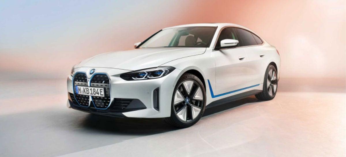 BMW i4 totalmente elétrico tem lançamento confirmado para o Brasil