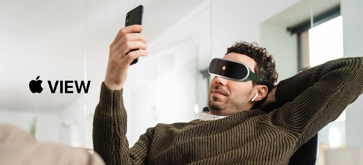 Headset de AR da Apple pode contar com sistema avançado de rastreamento ocular