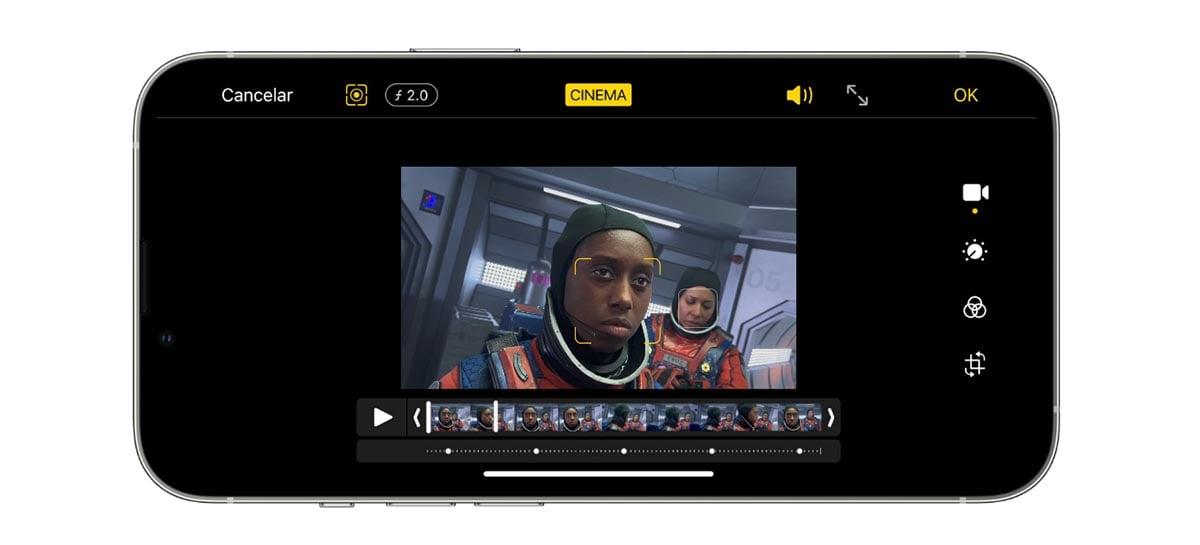 1 minuto de vídeo em ProRes no iPhone 13 ocupa 6 GB de armazenamento